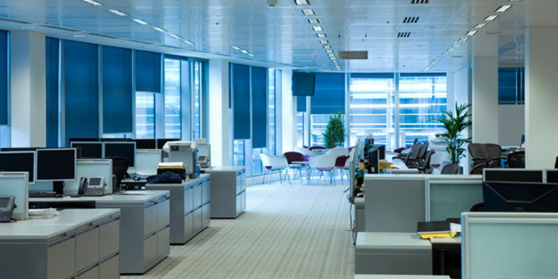 The Bright Lights: Excessive Office Illumination Leads to Increased Energy Consumption