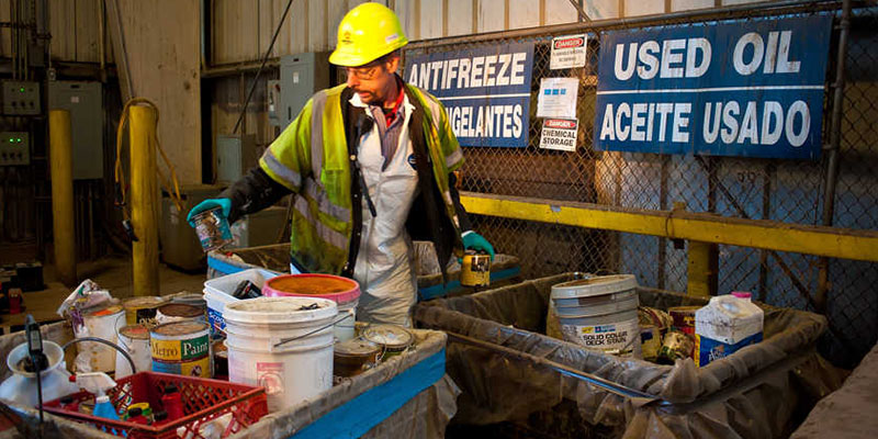Hazardous Waste Management for Retailers and Small Businesses