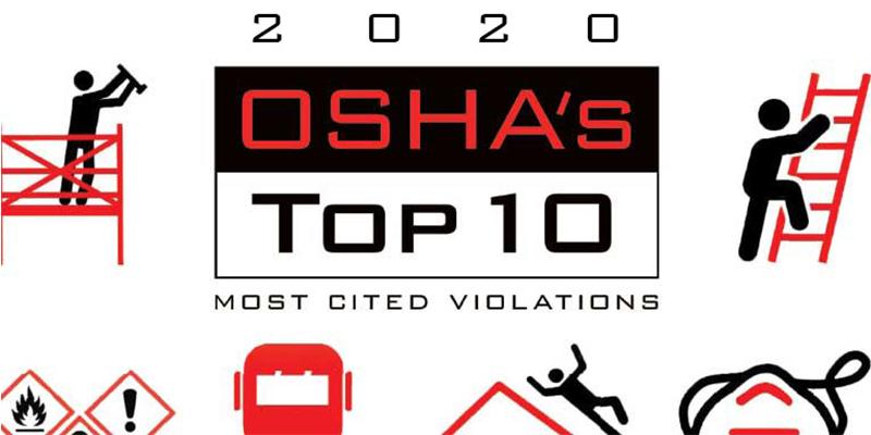 The TOP 10 OSHA Violations of 2020